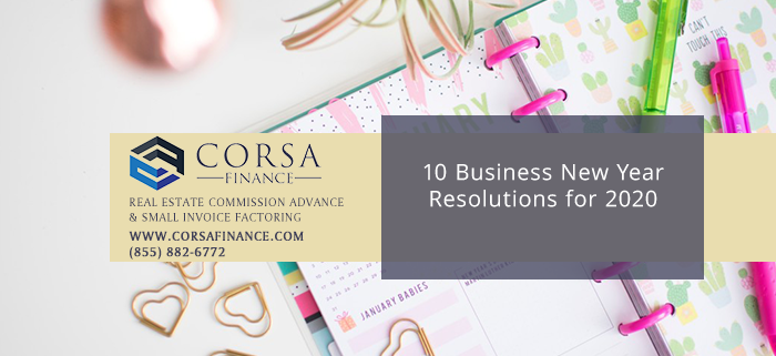 10 Business New Year Resolutions for 2020