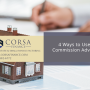 4 Ways to Use a Commission Advance for Realtors