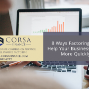 8 Ways Invoice Factoring Can Help You Grow Your Business Faster
