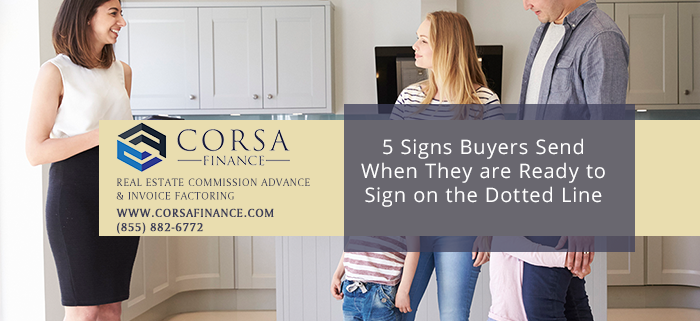 5 Signs Real Estate Buyers Send When they are Ready to Pull the Trigger