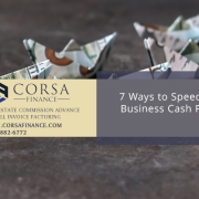 7 Ways to Speed Up Business Cash Flow